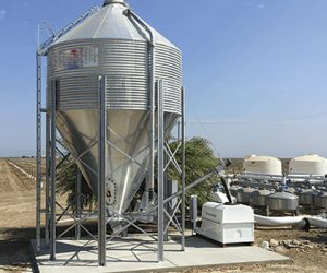 Gypsum Powder Silo Level Measurement - Hawk Centurion Guide Wave Radar