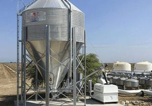 Gypsum Powder Silo Level Measurement - Hawk Centurion Guide Wave Radar